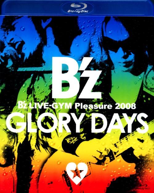 【中古】B'z LIVE-GYM Pleasure 2008 -GLORY DAYS- 【ブルーレイ】/B'z