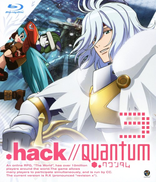 【中古】3..hack//Quantum (完) 【ブルーレイ】/花澤香菜