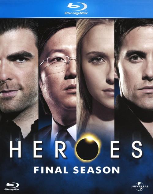 【中古】HEROES/ヒーローズ ファイナル・シーズン BOX 【ブルーレイ】/マイロ・ヴィンティミリア