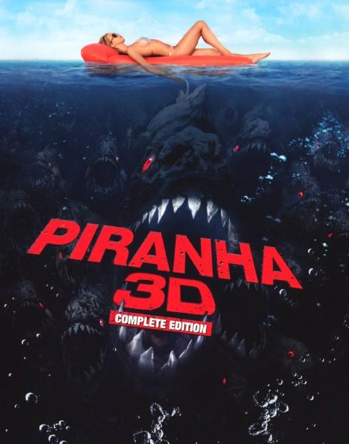 【中古】ピラニア (2010) 3D コンプリート・ED 【ブルーレイ】/エリザベス・シュー