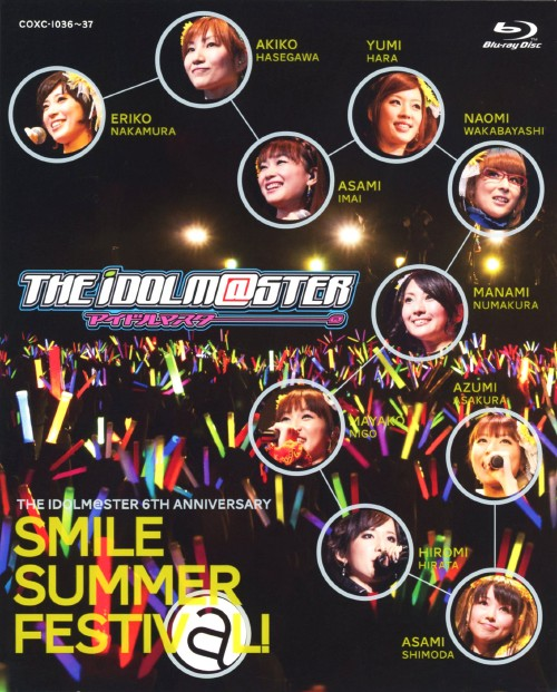 【中古】THE IDOLM@STER 6th ANNIVERSARY SMIL…BOX 【ブルーレイ】/中村繪里子