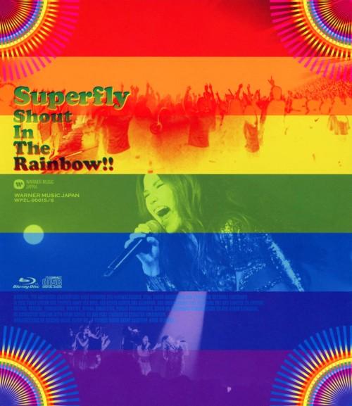 【中古】初限)Superfly/Shout In the Rainbow!! 【ブルーレイ】/Superfly