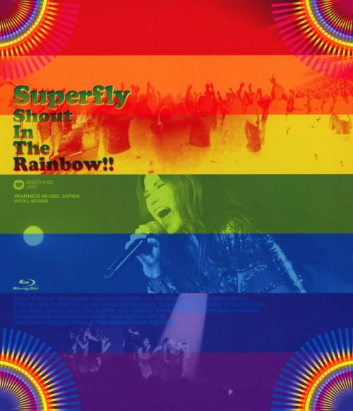【中古】Superfly/Shout In The Rainbow!! 【ブルーレイ】/Superfly