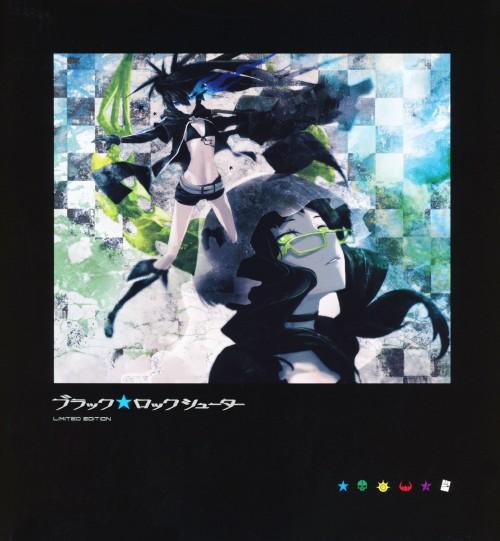 【中古】初限)ブラック・ロックシューター BOX 【ブルーレイ】/花澤香菜