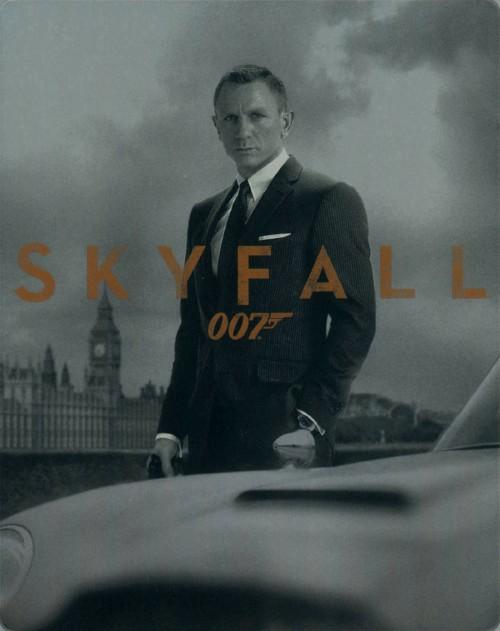【中古】初限)007 スカイフォール (スチールブック仕様) 【ブルーレイ】/ダニエル・クレイグ