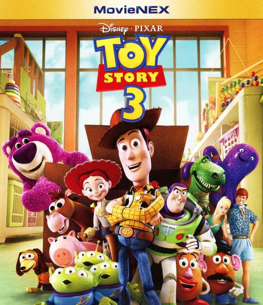 【新品】3.トイ・ストーリー MovieNEX BD+DVDセット 【ブルーレイ】/トム・ハンクス