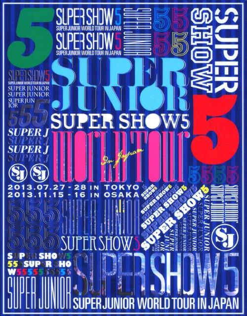 【中古】初限)SUPER JUNIOR WORL…SHOW 5 in JAPAN 【ブルーレイ】/SUPER JUNIOR
