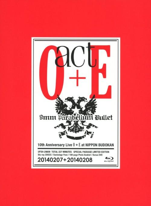 【中古】初限)9mm Parabellum Bullet/act O+E 【ブルーレイ】/9mm Parabellum Bulle