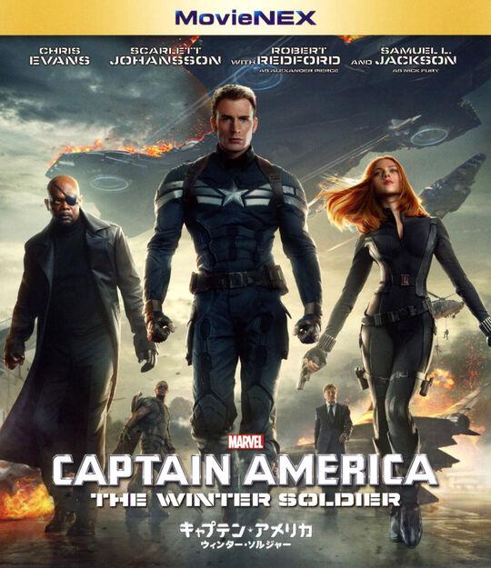 【中古】MV】キャプテン・アメリカ ウィンター…MovieNEXBD+DVDセット 【ブルーレイ】/クリス・エヴァンス