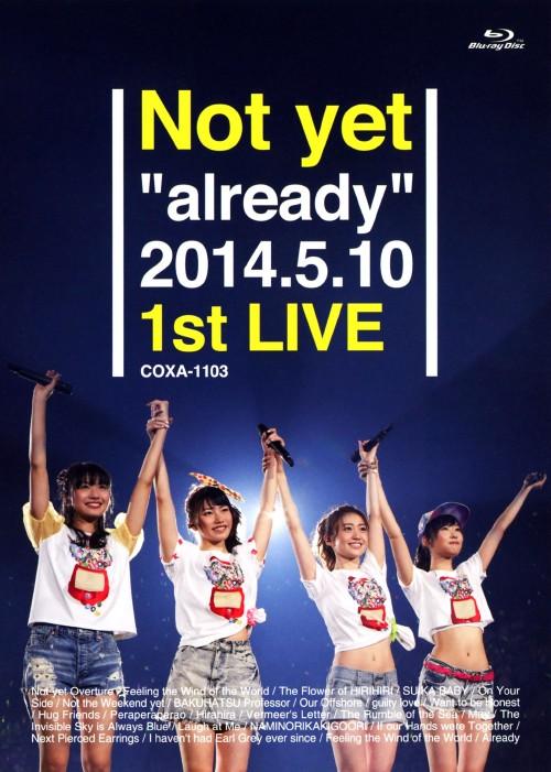 【中古】Not yet/already 2014.5.10 1st LIVE 【ブルーレイ】/Not yet
