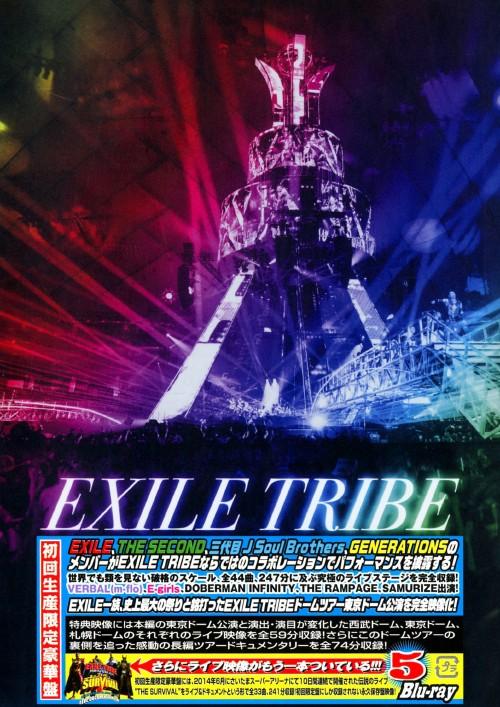 【中古】初限)EXILE TRIBE PERFECT YEAR LIVE TO… 【ブルーレイ】/EXILE TRIBE