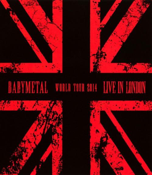 【中古】LIVE IN LONDON BABYMETAL WORLD TOUR 2014 【ブルーレイ】/BABYMETAL