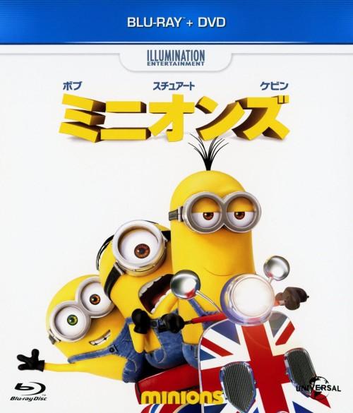 【中古】ミニオンズ BD+DVDセット 【ブルーレイ】/サンドラ・ブロック