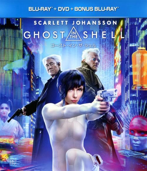 【中古】初限)ゴースト・イン・ザ・シェル BD+DVD 【ブルーレイ】/スカーレット・ヨハンソン