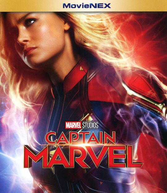 【新品】MV】キャプテン・マーベル MovieNEX BD+DVDセット 【ブルーレイ】/ブリー・ラーソン