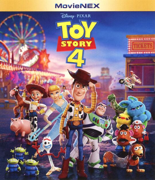 【新品】4.トイ・ストーリー MovieNEX BD+DVDセット 【ブルーレイ】/トム・ハンクス