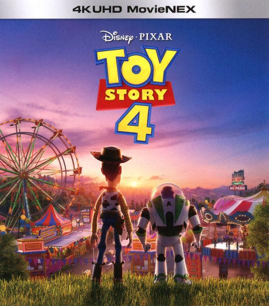 【新品】4.トイ・ストーリー 4K UHD MovieNEX 【ブルーレイ】/トム・ハンクス