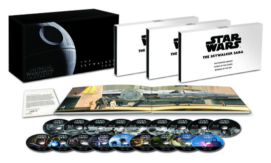 【新品】スター・ウォーズ スカイウォーカー・サーガ 4K UH…BOX 【ブルーレイ】/デイジー・リドリー
