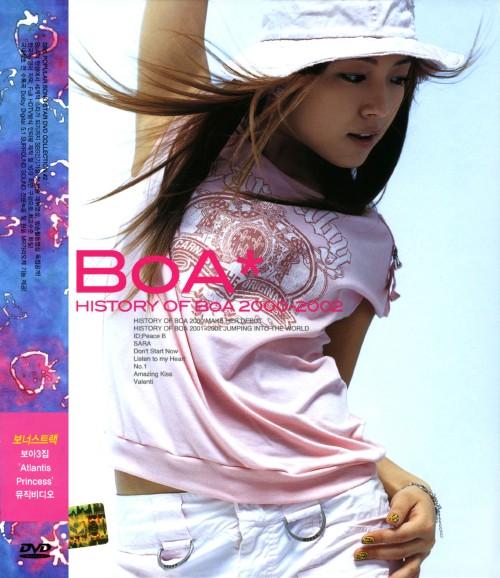 【中古】HISTORY OF BoA 2000-2002 【DVD】/BoA