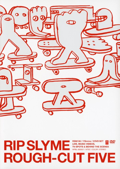 【中古】RIP SLYME/ROUGH-CUT FIVE 【DVD】/RIP SLYME