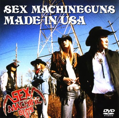 【中古】SEX MACHINEGUNS/MADE IN USA 【DVD】/SEX MACHINEGUNS