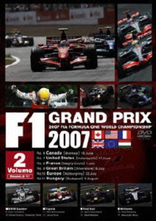 【中古】2.F1グランプリ2007Rd.6-11 【DVD】