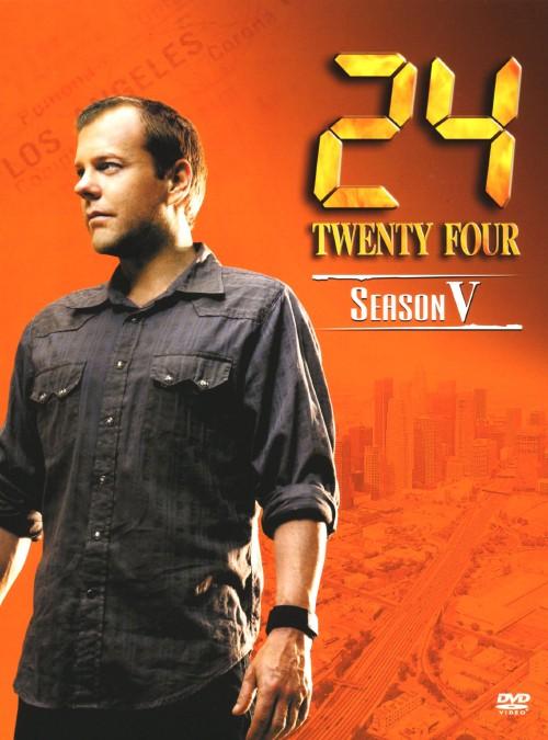 【中古】24 TWENTY FOUR 5th ハンディBOX 【DVD】/キーファー・サザーランド