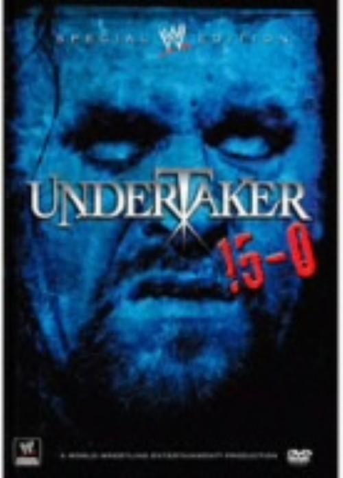 【中古】WWE アンダーテイカー 15−0 【DVD】