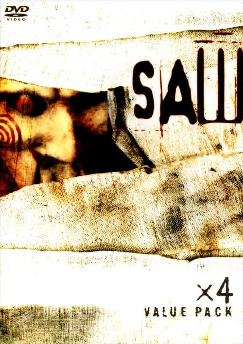 【中古】初限)SAW×4 バリューパック 【DVD】/トビン・ベル