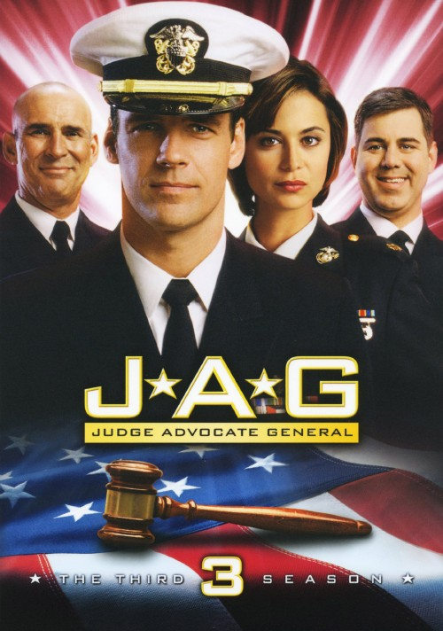 【中古】3.JAG 犯罪捜査官ネイビーファイル 【DVD】/デヴィッド・ジェームズ・エリオット
