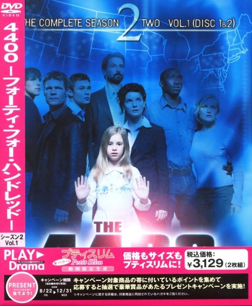 【中古】期限)1.THE 4400 2nd プティスリム 【DVD】/ジョエル・グレッチ