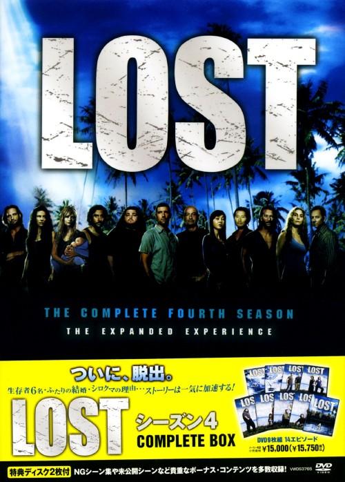 【中古】LOST 4th COMPLETE BOX 【DVD】/マシュー・フォックス