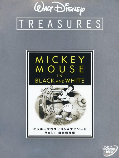 【中古】初限)1.ミッキーマウス B&W エピソード保存版 【DVD】