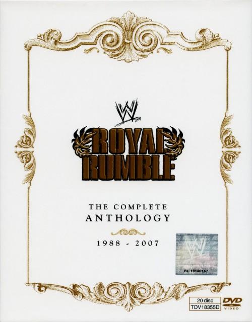 【中古】WWE ロイヤルランブル アンソロジー BOX 1988-2007 【DVD】