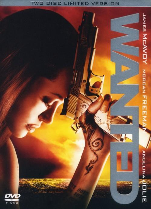 【中古】ウォンテッド (2008) リミテッド・バージョン 【DVD】/アンジェリーナ・ジョリー