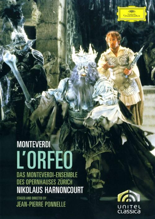 【中古】期限)モンテヴェルディ:歌劇 「オルフェオ」 【DVD】/ニコラウス・アーノンクール