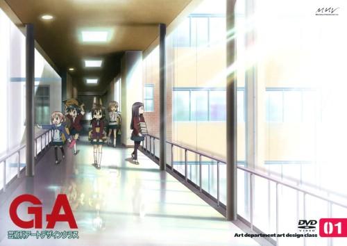 【中古】初限)1.GA 芸術科アートデザインクラス 【DVD】/戸松遥