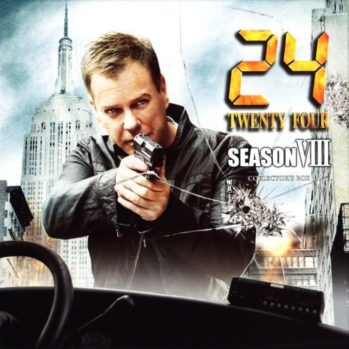 【中古】24 TWENTY FOUR ファイナル・シーズン(8th) BOX 【DVD】/キーファー・サザーランド