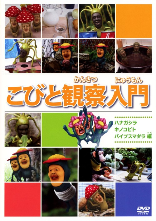 【中古】こびと観察入門 ハナガシラ キノコビト バイブスマ…編 【DVD】