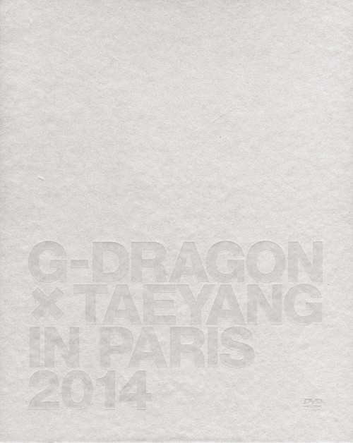 【中古】G-DRAGON×TAEYANG IN PARIS 2014 【DVD】/G−DRAGON