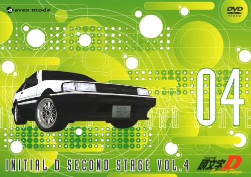 【中古】4.頭文字D 2nd Stage (完) 【DVD】/三木眞一郎