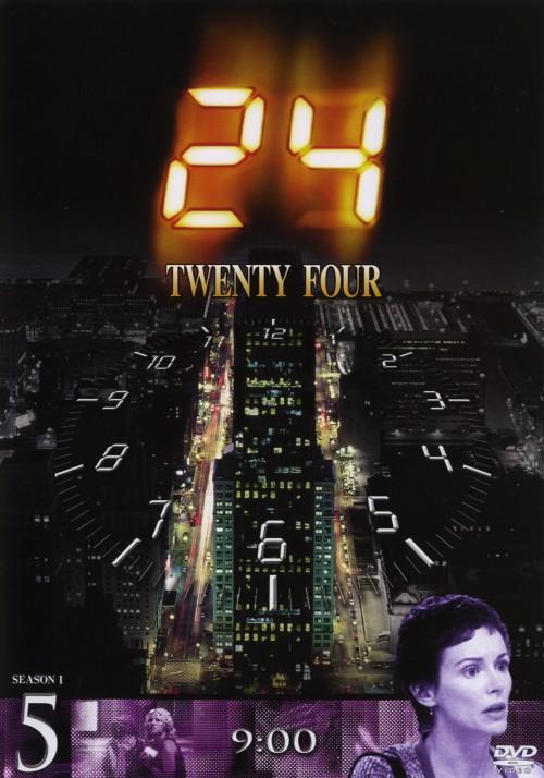 【中古】初限)5.24 TWENTY FOUR 1st 【DVD】/キーファー・サザーランド