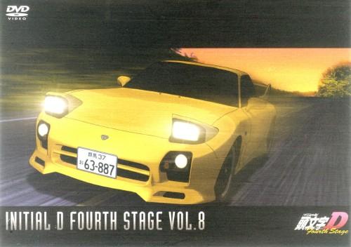 【中古】8.頭文字D 4th Stage 【DVD】/三木眞一郎