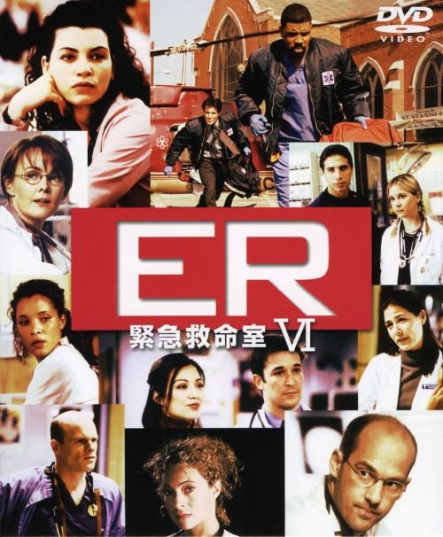 【中古】1.ER 緊急救命室 6thセット 【DVD】/アンソニー・エドワーズ