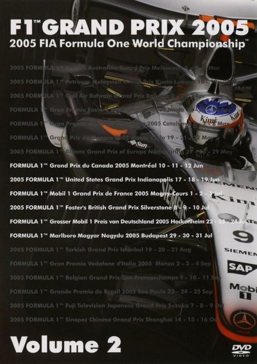 【中古】2.F1グランプリ2005Rd.8-13 【DVD】