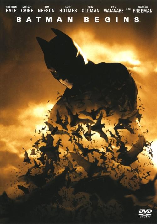 【中古】バットマン ビギンズ 【DVD】/クリスチャン・ベール