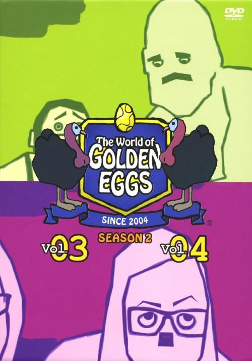 【中古】The World of GOLDEN EGGS SEASON2 BOX 【DVD】