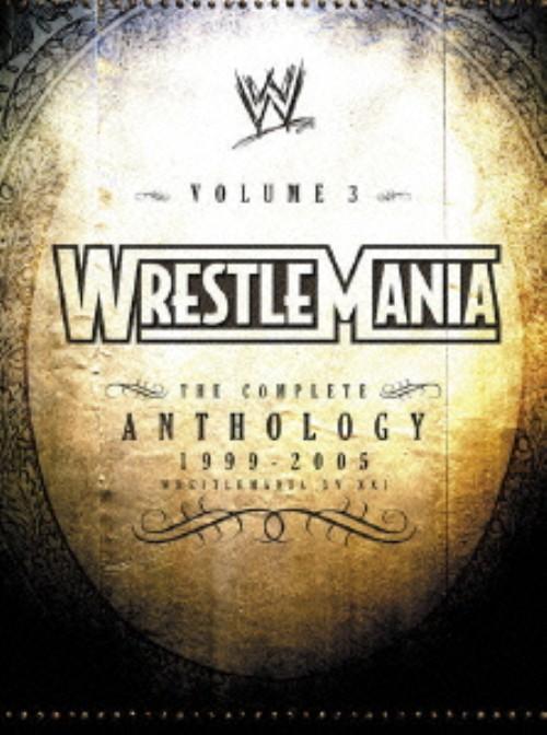 【中古】限)3.WWE レッスルマニア・アンソロジーBOX 【DVD】