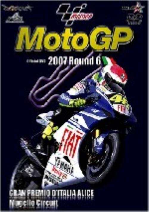 【中古】6.2007 MOTOGP イタリアGP 【DVD】