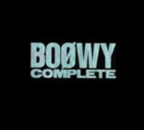 【中古】BOOWY COMPLETE(初回限定盤)/BOφWY